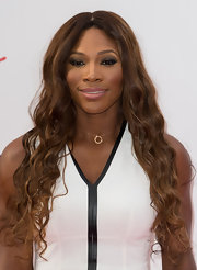 Serena Williams looked striking and sexy with her smoky eyes during the pre-Wimbledon party.