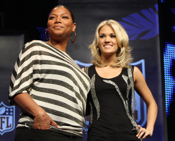 More Pics of Carrie Underwood Medium Layered Cut (1 of 32) - Carrie Underwood Lookbook - StyleBistro