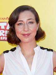 Kristen Schaal rocked a retro bob at the premiere of 'Captain Underpants: The First Epic Movie.'