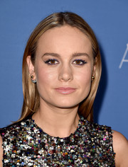 Brie Larson kept it simple with this loose, center-parted style at the premiere of 'Room.'