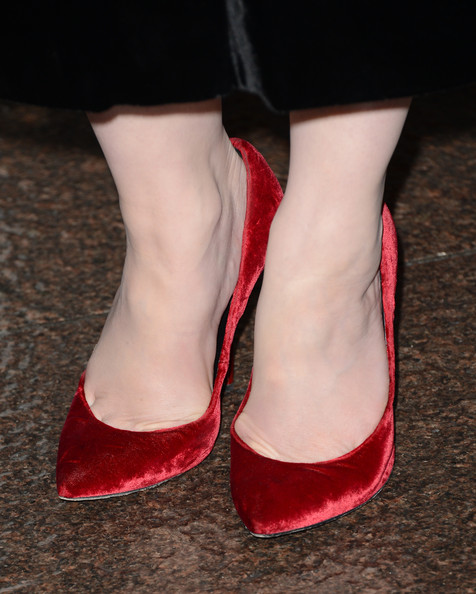More Pics of Christina Hendricks Pumps (3 of 67) - Christina Hendricks Lookbook - StyleBistro