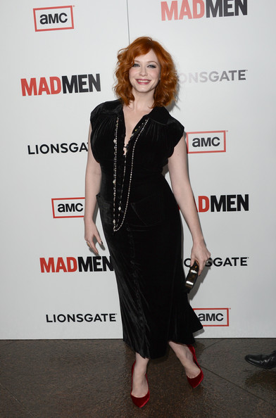 More Pics of Christina Hendricks Pumps (4 of 67) - Christina Hendricks Lookbook - StyleBistro