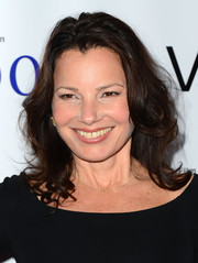 Fran Drescher wore her hair in feathered waves during the premiere of 'Bridegroom.'
