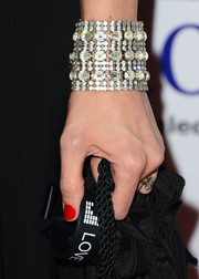 Alexandra Dean Grossi wore a stunner of a diamond bracelet at the 'Bridegroom' premiere.