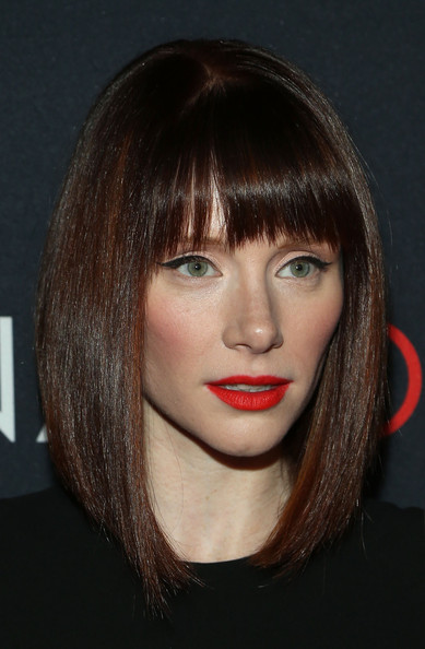 Bryce Dallas Howard was a head turner during Canon's Project Imaginat10n Film Festival with her bright red lips, cat eyes, and sleek 'do.
