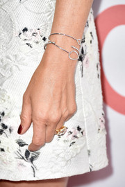 Jennifer Aniston sported an adorable diamond bracelet by Jennifer Meyer at the premiere of 'Cake.'