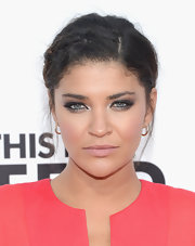 Jessica Szohr's braided 'do totally showed off her summery highlights.