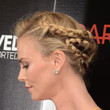 Charlize Theron's Glamorous Updo
