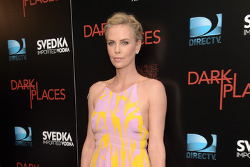 Look of the Day: Charlize Theron's Flirtatious Frock