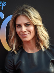 Jillian Michaels wore a subtly wavy, shoulder-length hairstyle to the premiere of 'The BFG.'