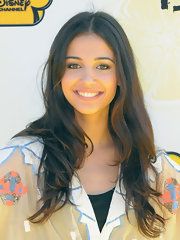 Naomi Scott let her luscious locks down for the premiere of 'Lemonade Mouth.'
