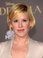 Molly Ringwald made an appearance at the 'Cinderella' premiere wearing a very cute bob.