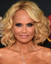 Kristin Chenoweth showed off perfect curls at the premiere of 'Descendants.'