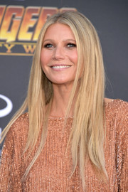 Gwyneth Paltrow attended the premiere of 'Avengers: Infinity War' wearing her signature straight layered cut.