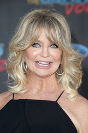 Goldie Hawn got dolled up with this curly 'do for the premiere of 'Guardians of the Galaxy Vol. 2.'