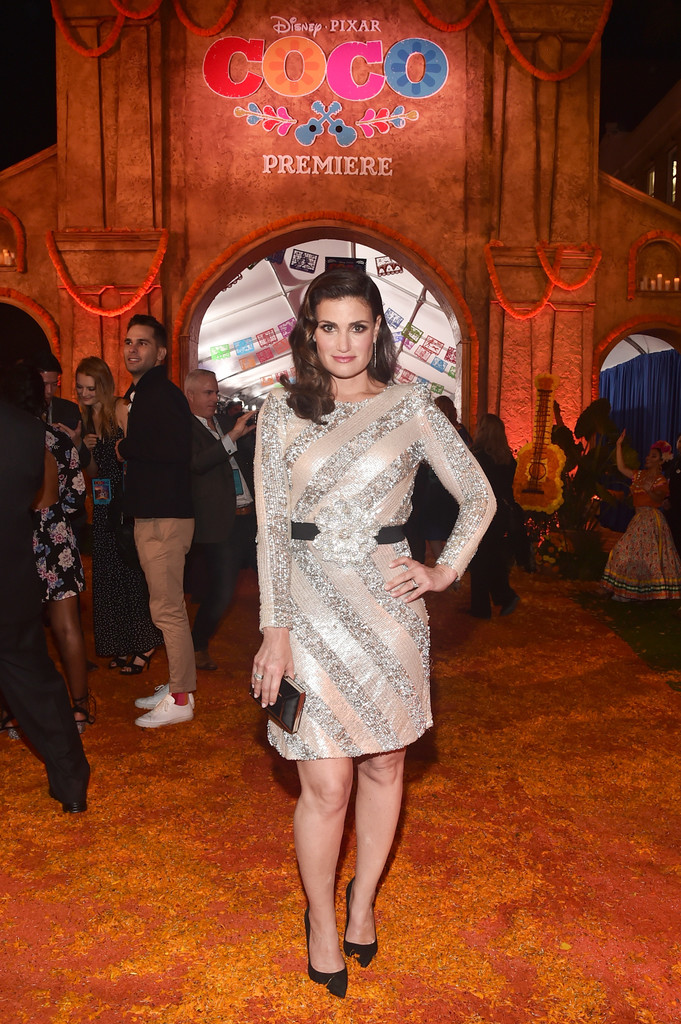 Idina Menzel Frozen Premiere More Pics of Idina Men...