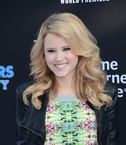 Taylor opted for maximum volume at the 'Monsters University' premiere.