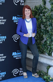 Kate wore a pair of skinny jeans while out at the 'Monsters University' premiere.