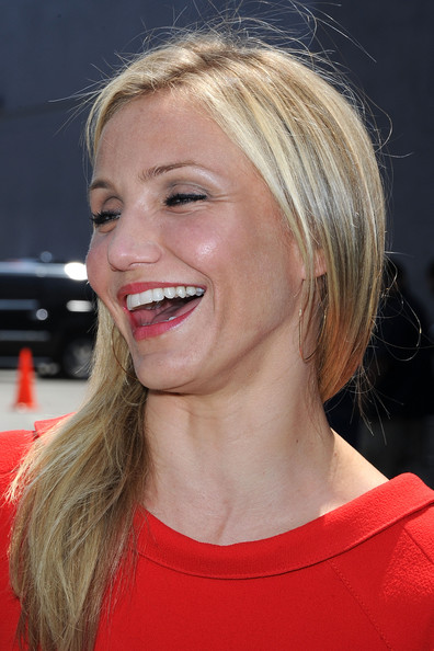 More Pics of Cameron Diaz Long Straight Cut (7 of 37) - Long Straight Cut Lookbook - StyleBistro