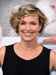 Melora Hardin looked lovely with her curly bob at the premiere of 'Nine Lives.'