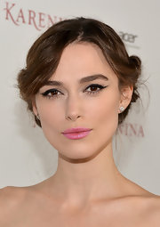 Keira Knightley's pout was painted the prettiest shiny pink for the 'Anna Karenina' Hollywood premiere.