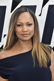 Garcelle Beauvais sported sleek ombre tresses at the premiere of 'BlacKkKlansman.'