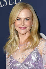 Nicole Kidman amped up the sweet vibe with a glossy pink lip.