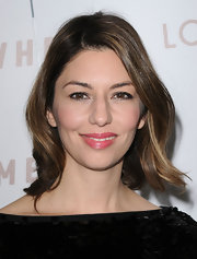 Sofia Coppola showed off her radiant waves while attending the premiere of 'Somewhere'.