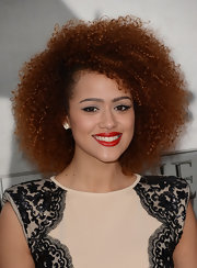 Nathalie Emmanuel's curls were absolutely envy-worthy at the 'Game of Thrones' season 3 red carpet.