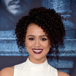 Nathalie Emmanuel's Heightened Curls