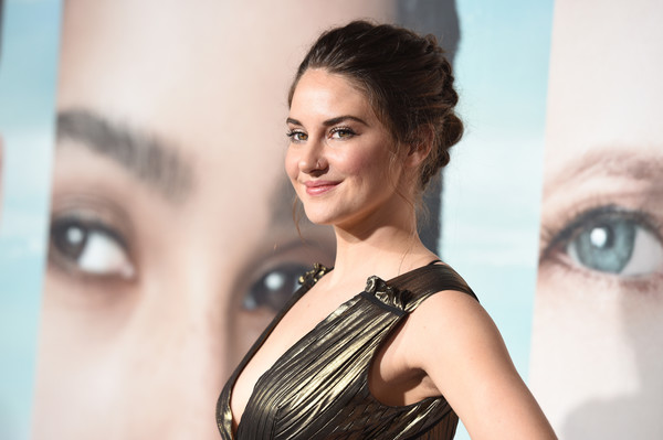 Shailene Woodley swept her hair back into a lovely braided updo for the premiere of 'Big Little Lies.'