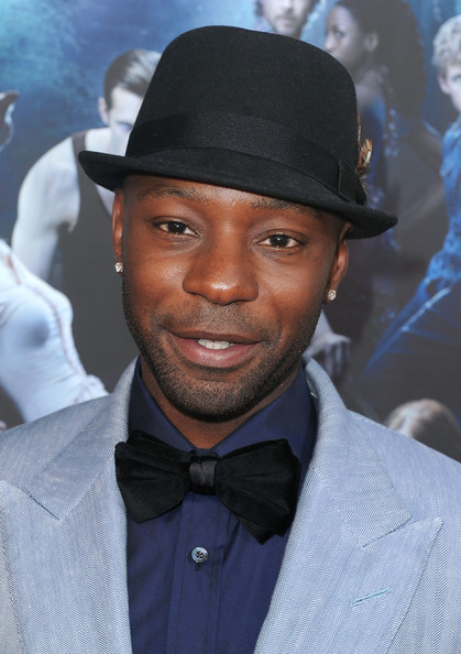 Nelsan Ellis paired his bow tie with a snazzy bowler hat.