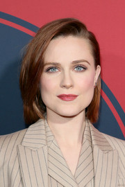 Evan Rachel Wood looked sweet wearing this bob at the premiere of 'Westworld' season 2.