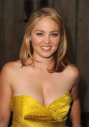 "Actress Erika Christensen attended the ""Mercy"" premiere in Los Angeles donning a shoulder length straight cut."