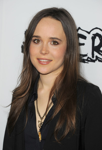 More Pics of Ellen Page Long Curls (2 of 19) - Ellen Page Lookbook - StyleBistro