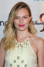 Kate Bosworth added a pop of color to her look for the premiere of 'Life Happens' by wearing a bright pink lipstick with a matte finish.