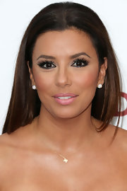 Eva Longoria kept her tresses smooth and straight for the premiere of 'Devious Maids.'