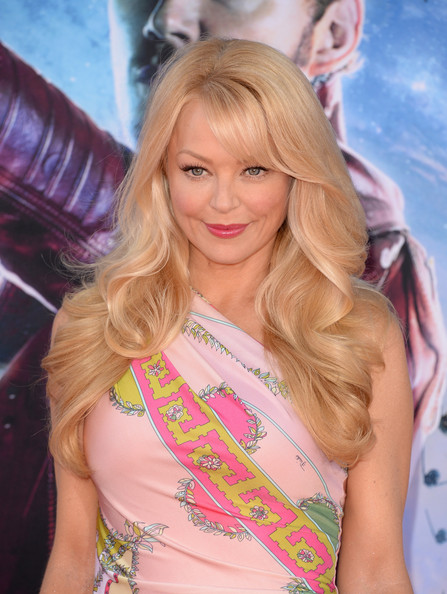 Charlotte Ross attended the 'Guardians of the Galaxy' premiere wearing perfectly sculpted waves.