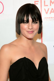 Selma Blair showed off her sleek bob and blunt cut bangs while attending the Tribeca Film Festival.