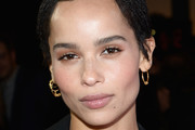 Zoe Kravitz Braided Updo