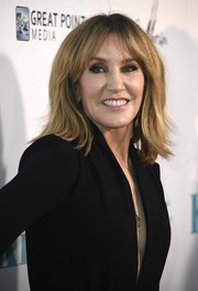 Felicity Huffman sported a trendy layered cut at the premiere of 'Krystal.'