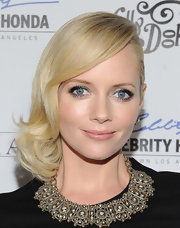 Marley Shelton wore a gorgeous diamond collar necklace to the premiere of 'The Mighty Macs.'