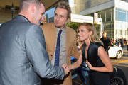 Tyler Clary and Kristen Bell Photo