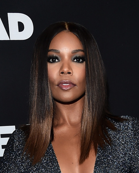 Gabrielle Union's Sleek Ombre 'Do