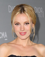 Bar Paly opted for a classic loose, center-parted bun when she attended the 'Dior and I' premiere.