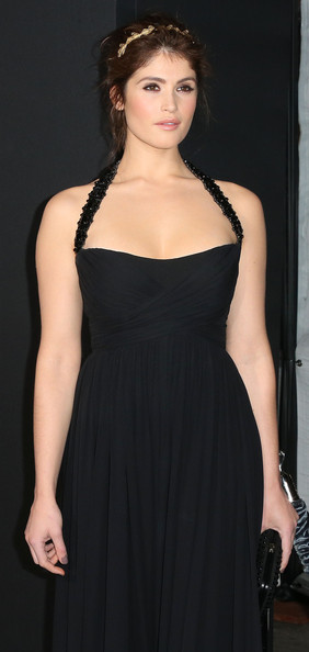More Pics of Gemma Arterton Messy Updo (2 of 22) - Gemma Arterton Lookbook - StyleBistro