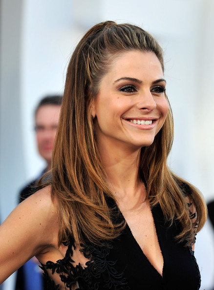 More Pics of Maria Menounos Half Up Half Down (1 of 19) - Half Up Half Down Lookbook - StyleBistro