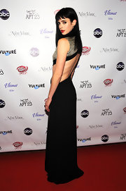Krysten brought cutout dresses to a whole new level in her slashed backless gown at her show's premiere party.