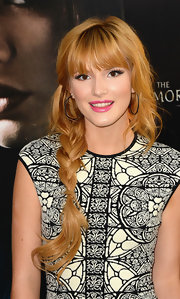 Bella's long side braid showed off her soft strawberry blonde locks at the premiere of 'The Mortal Instruments: City of Bones.'
