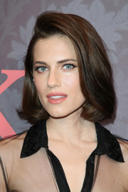 Allison Williams showed off a perfectly elegant bob at the premiere of 'Patrick Melrose.'